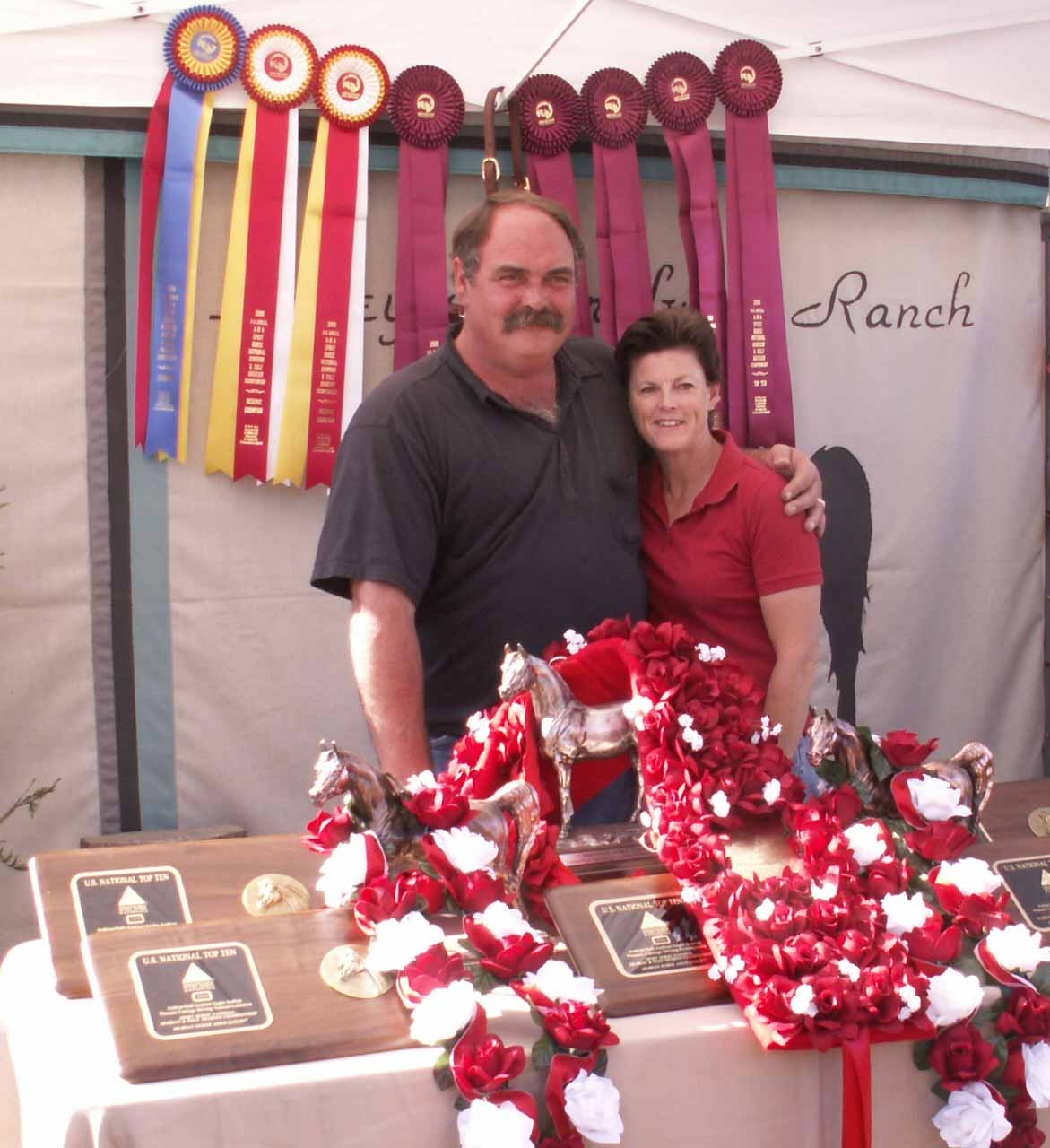 Dean and Sheri US Arabian Nationals